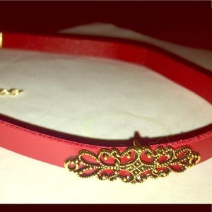 Beautiful Red Vintage Choker Necklace